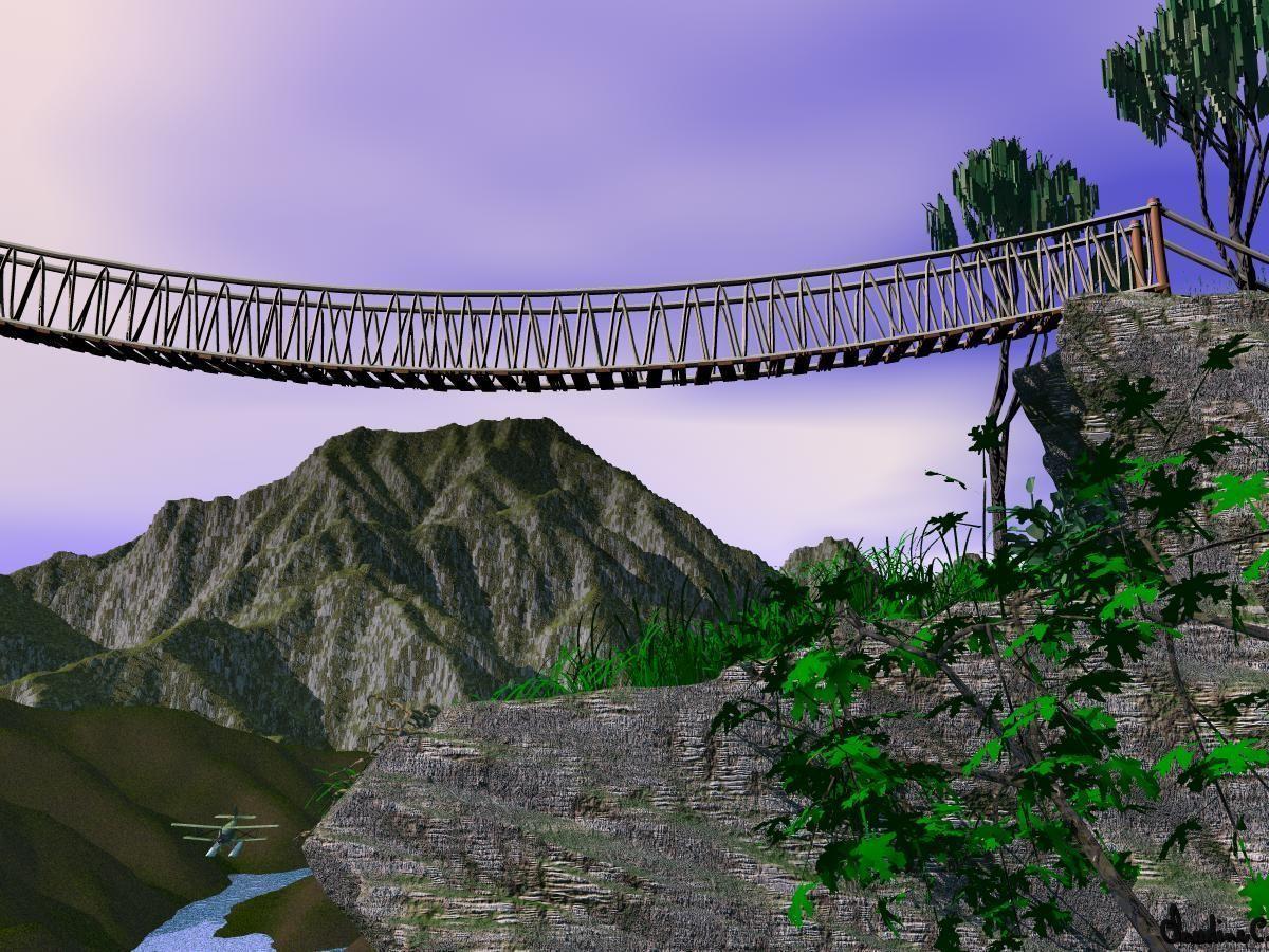 Pont De Corde Bande Transporteuse Caoutchouc